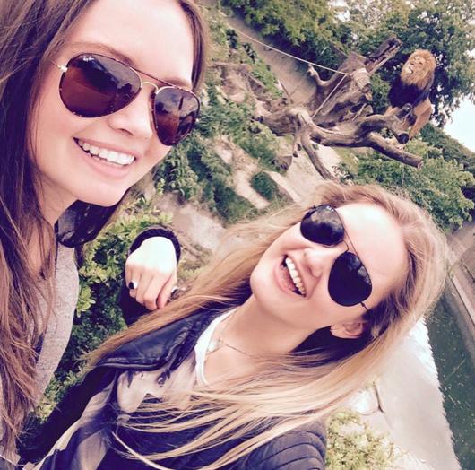 Copenhagen zoo with my sister